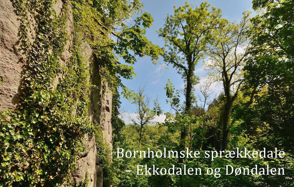 Bornholmske sprækkedale – Ekkodalen og Døndalen