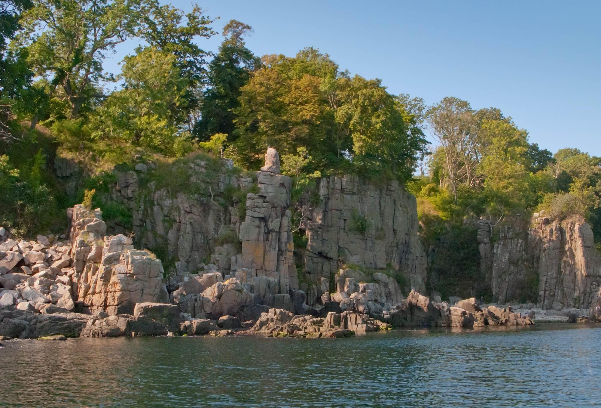 klippehule på bornholm