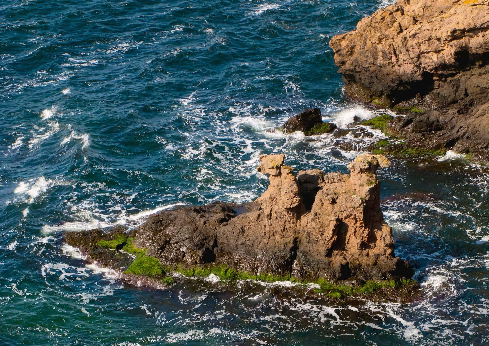 klippegrotte på bornholm