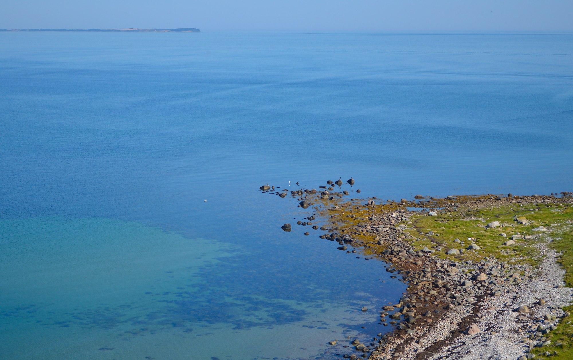 Spidsen af Nekselø med Sejerø i horisonten (foto: Rune Engelbreth Larsen)