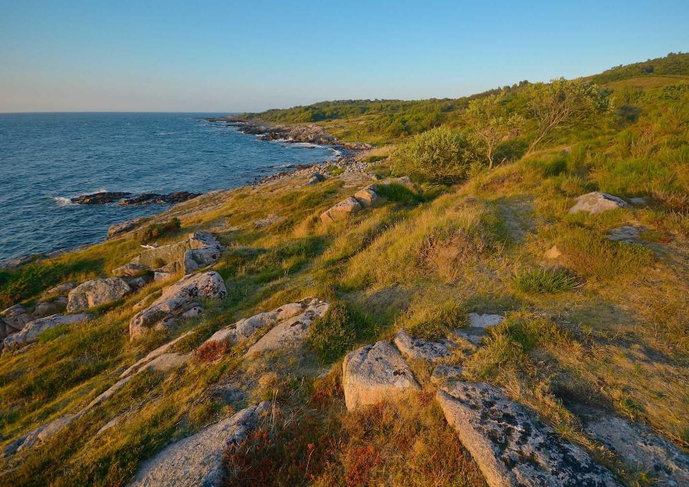 Hammeren, vestlig klippekyst (foto: Rune Engelbreth Larsen)