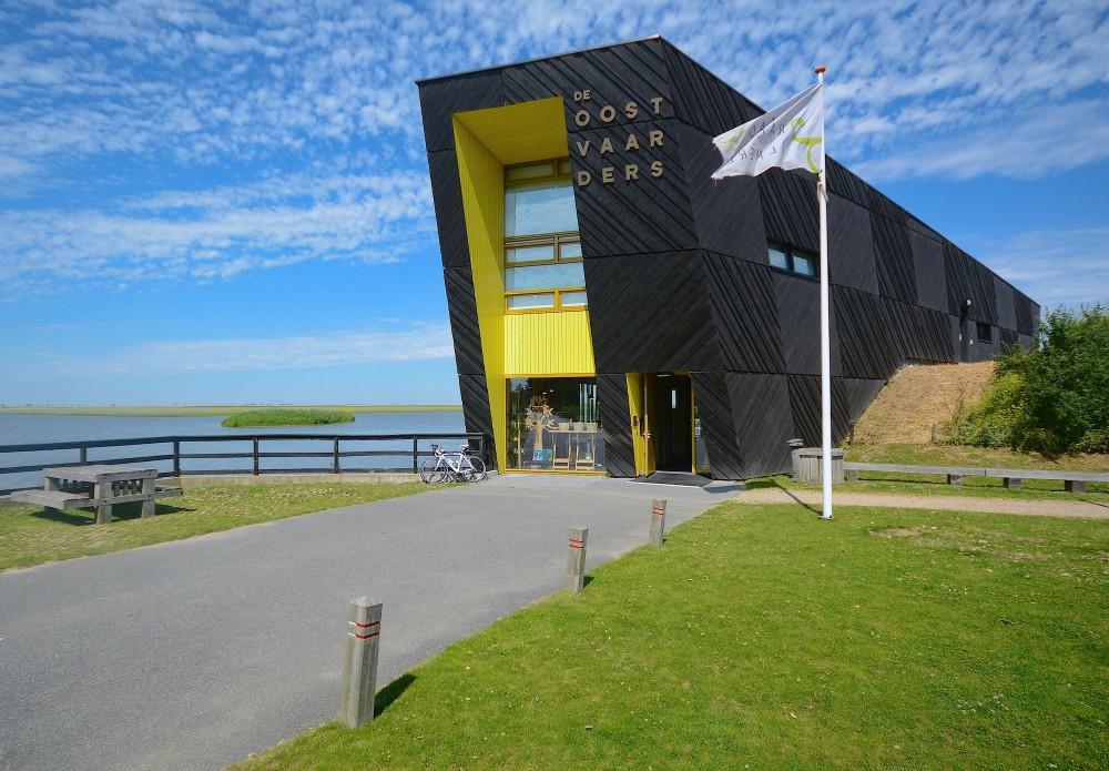 Det ene af to besøgscentre ved Oostvaardersplassen i Holland – dette er beliggende nær byen Almere (foto: Rune Englebreth Larsen)