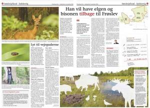 Dobbeltopslag i Flensborg Avis af journalist Niels Ole Krogh og layouter Eyla Boysen
