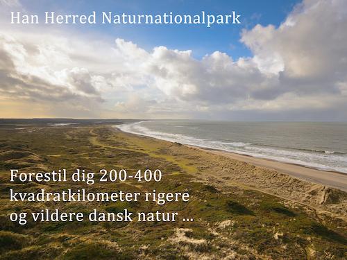Naturnationalpark Han Herred – forestil dig 200-400 kvadratkilometer vildere dansk natur ...