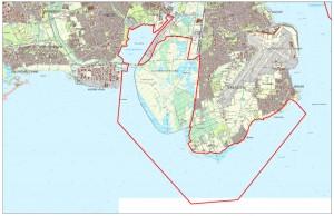 Natura 2000-areal, hvor Danmark er forpligtet til en særlig naturindsats