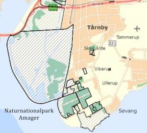 Statsejede arealer på Vestamager (Naturstyrelsen)