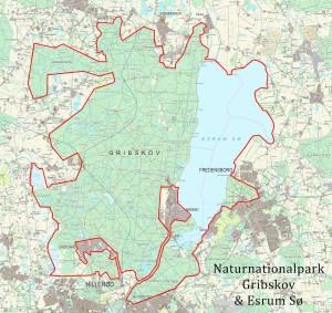 Forslag til rammerne for Naturnationalpark Gribskov & Esrum Sø: 79 kvadratkilometer sammenhængende natur i offentlige eje, der inkluderer en af Danmarks mest artsrige skove, som burde friholdes fra motorsave og udvikle sig til såkaldt urørt skov – vildskov