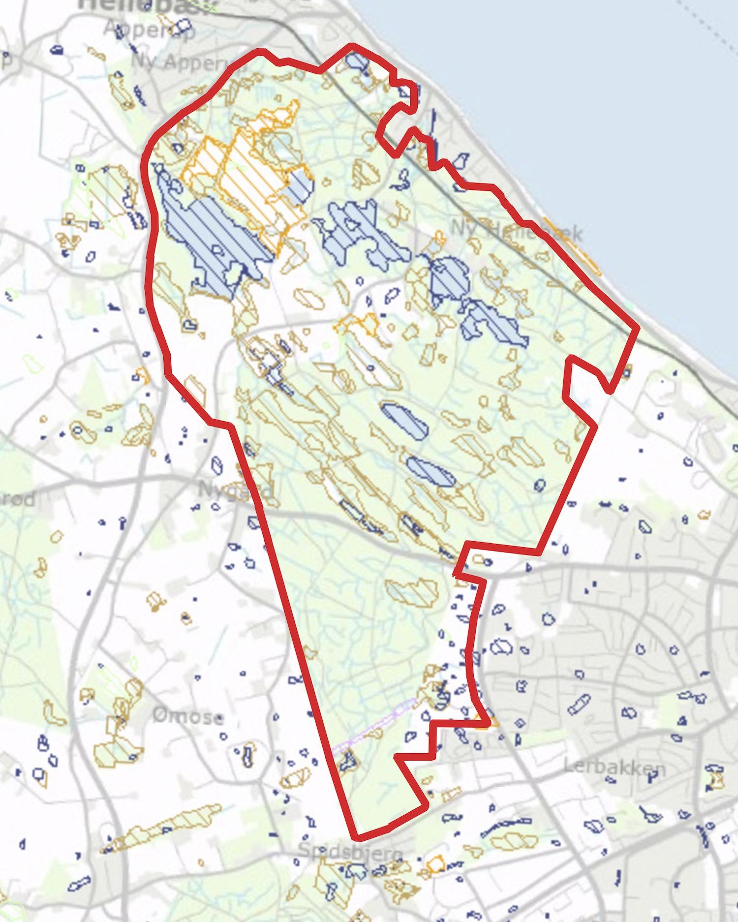 Arealer beskyttet efter Naturbeskyttelseslovens §3
