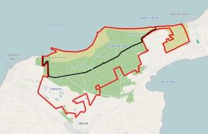 En hegnslinje på ca. 10 kilometer ville kunne være første etape i en overkommelig begyndelse på etableringen af Naturnationalpark Læsø med mulighed for at udsætte større planteædere.