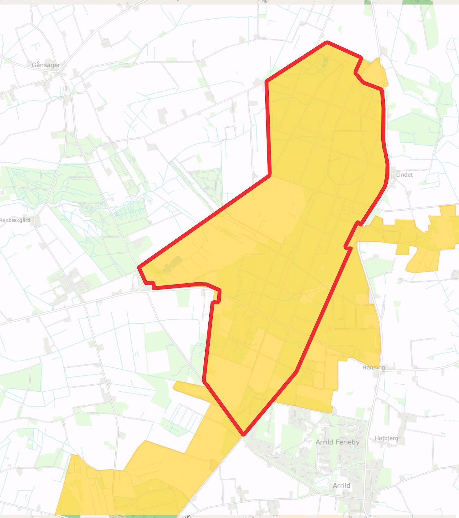 Forslaget til afgrænsningen af Naturnationalpark Lindet Skov & Hønning Mose overlapper store dele af et Natura 2000-område, hvor Danmark i forvejen er forpligtet til at yde en særlig indsats til gavn for biodiversiteten.