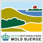 Naturnationalpark Mols Bjerge, logo, skilt