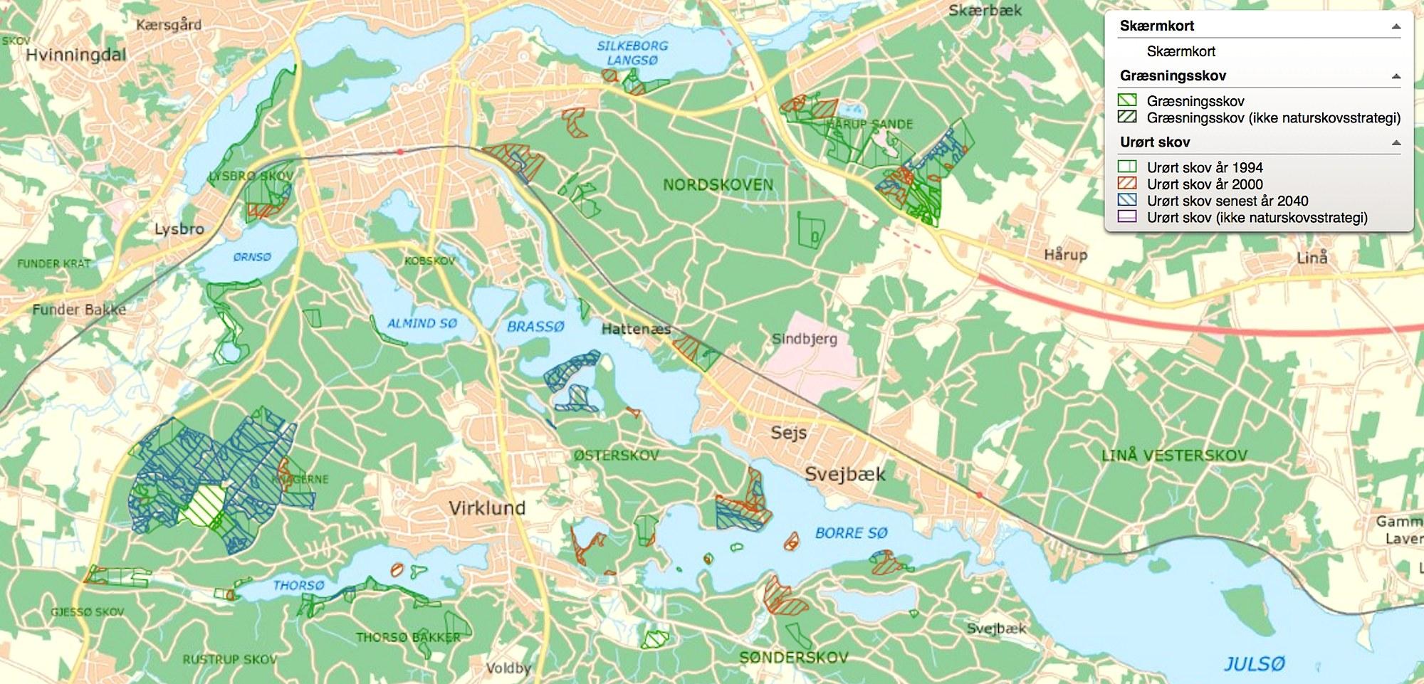 Vandreruter Silkeborg
