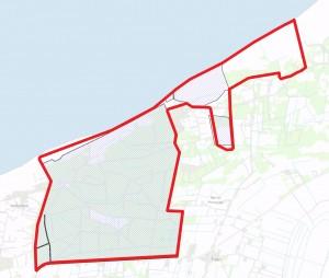Langt hovedparten af det foreslåede areal i Naturnationalpark Tversted Skov & Kyst er statsejet (ca. 84%)