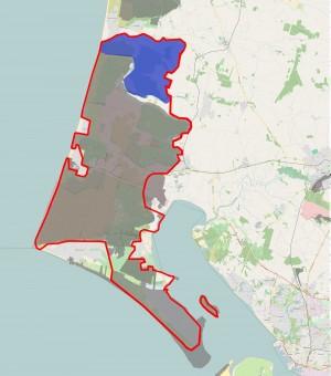 Ejerforholdene i det foreslåede område viser, at langt størstedelen er statsejet (skraveret), og at den nordligste del, der udgøres af Filsø og Filsø Hede, er ejet af Aage V. Jensen Naturfond (afgrænset med blåt). Der er med andre ord kun meget få øvrige private lodsejere på ca. 6% a arealet, som enten skal købes ud af Den Danske Naturfond eller indgå permanente aftaler til gavn for natur og biodiversitet