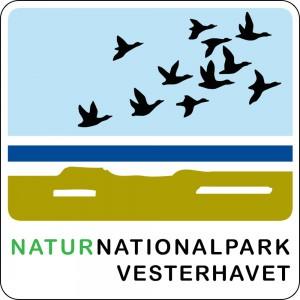 Naturnationalpark Vesterhavet, logo, skilt