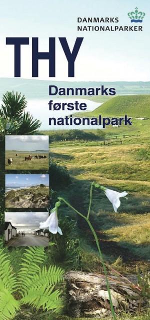 Naturstyrelsens folderforside til Nationalpark Thy