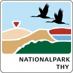 Officielt logo for Nationalpark Thy