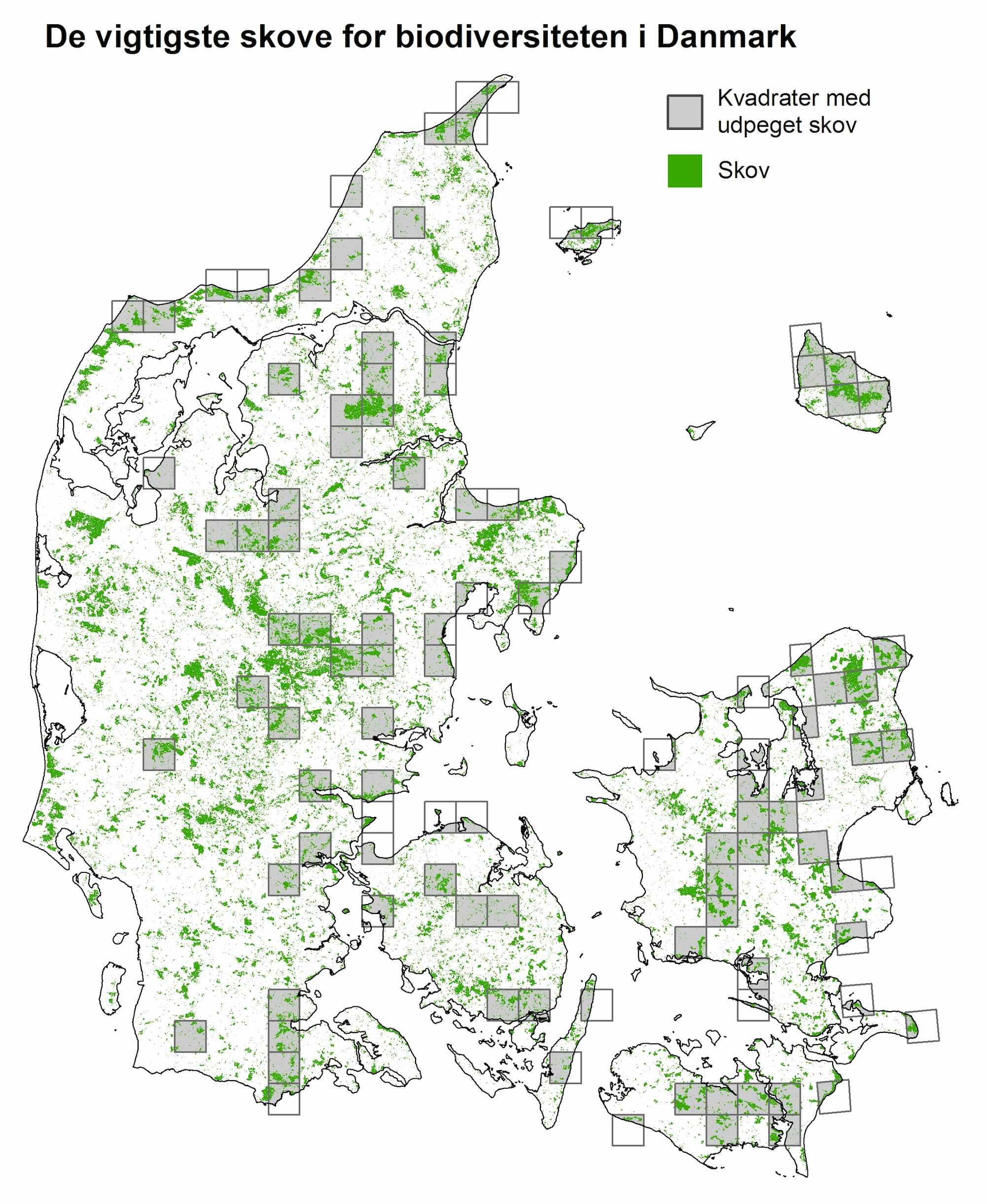 hvor mange procent skov består danmark af